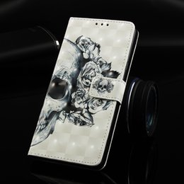 3d Cases Sony Xperia Australia - Leather Flip Case for Sony Xperia XA2 Ultra Painted 3D owl Butterfly skull Dream Wind chimes flower unicorn with Card slot