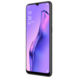 "oppo screen NZ - Original Oppo A8 4G LTE Cell Phone 4GB RAM 128GB ROM Helio P35 Octa Core Android 6.5"" Full Screen 12.0MP Fingerprint ID Smart Mobile Phone"