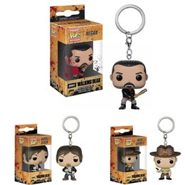$enCountryForm.capitalKeyWord NZ - FUNKO POP New arrival Pocket Pop Keychain Official The Walking Dead Characters Action Figure Collectible Model Christmas Toys