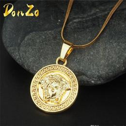 Necklaces Pendants Australia - Designer Charm Men Chain Necklaces Hip Hop Luxury Charm Pendant Necklaces Fashion Gold Personality Clavicle Chain Necklaces