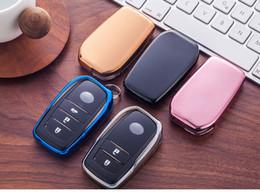 $enCountryForm.capitalKeyWord Australia - Car key case For Toyota Camry Crown Highlander Levin,ultra slim elastic TPU Soft Cover fit for TOYOTA Auto Smart remote key