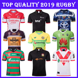 09daac2d1 Top 2019 New Zealand Knight Chiefs St George's Rugby Australia Jersey 19 20  Crusader Cowboy Lion Hurricane Rabbitohs Rugby Shirt