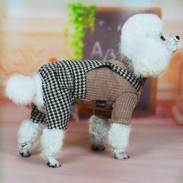 $enCountryForm.capitalKeyWord Australia - Summer Pet clothe Puppy Small Dog Cat Clothes for cheap Tutu Dress Princess Skirt Apparel Costume cute dog clothes xl Houndstooth dresses