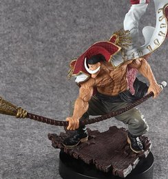Japanese pvc figures online shopping - One Piece Action Figure WHITE BEARD Pirates Edward Newgate PVC Onepiece SCultures the TAG team Anime Figure Toys Japanese