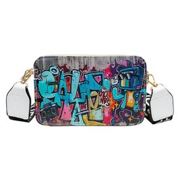 19d636b70b24e Ladies Hip Bag Australia - Designer 2019 Women Bag Hip-Hop Street Summer  Graffiti Ladies