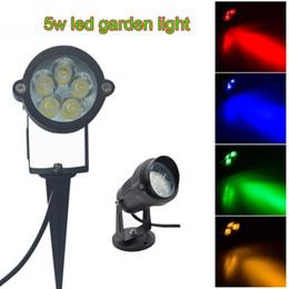 $enCountryForm.capitalKeyWord Australia - 5W Outdoor LED Spike Light AC85-265V AC DC12V Ground Spike Light IP65 LED Lawn Garden Lamp For Christmas Day 10pcs