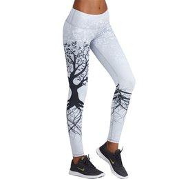 33222fae1 Fashion 3d Printed Leggings Women Push Up High Waist Leggings 3d Digital Tree  Print Slim Polyester Harajuku Legging Xs -L