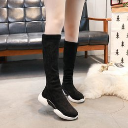 b9ccd5c35c8 Boots over knee western online shopping - Hung Yau Women High Heel Boots  Round Toe Platfrom