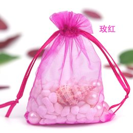 $enCountryForm.capitalKeyWord Australia - White Organza Bags Large All Size Wedding Jewellery Gift Favour Pouch 25x35cm