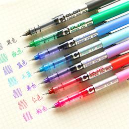 $enCountryForm.capitalKeyWord Australia - 1pcs Concise Highlighter Pen Creative Ink Pen Marker For Kids Students Gift Novelty Item Korean Stationery School Supply
