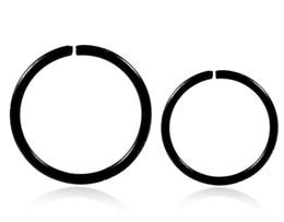 $enCountryForm.capitalKeyWord Australia - Unique Fashion Nose Rings Luxury Nose Hoop Ring Women Mens Body Piercing Jewelry Stainless Steel Piercing Rings Wholesale