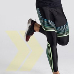 man tight yoga pant NZ - Men Running Sportswear Tights Compression Rashgard Gym Joggers Yoga Leggings Trousers Fitness Clothing Jogging Sport Pants