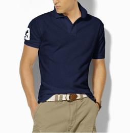 $enCountryForm.capitalKeyWord Australia - High Quality Classic Polo Shirt Men Solid Short Sleeve Summer Casual Polo Men Ralph T-shirts Mens Polos Shirts RL8201 Poloshirt