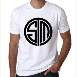 $enCountryForm.capitalKeyWord Australia - TSM t shirt Team SoloMid emblem short sleeve tees E sports player tops Fadeless print clothing Pure color colorfast modal tshirt