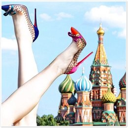 American Leather Shoes Australia - Transparent Film Rivet Bow High Heeled Shoes European and American Women Point Shallow Heel High Single Shoes
