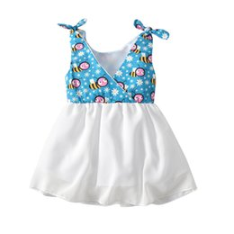 $enCountryForm.capitalKeyWord Australia - Latest Infant Baby Toddler Children's wear Good quality Casual cotton linen summer baby girl dresses style baby Blue frock designs