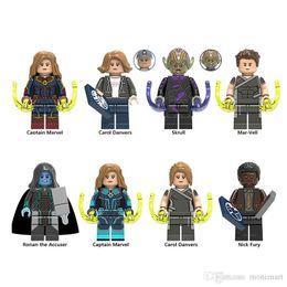 $enCountryForm.capitalKeyWord Australia - For legoing Captain Marvel Avengers Figures Super Heroes Carol Danvers Skrull Mar-Vell Model Building Block kids Toys Bricks Baby Toys