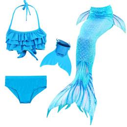 23e98ae713b43a Mädchen schwimmen meerjungfrau tails cosplay kostüm kleine kinder  meerjungfrau badeanzug für kinder swimmable dress einfach hinzufügen