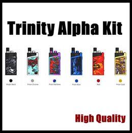 $enCountryForm.capitalKeyWord Australia - Trinity Alpha Kit 2.8ml Pod System Built-in 1000mAh Battery Push-up-type Filling Cap Unique Lock Button Vape Device High Quality