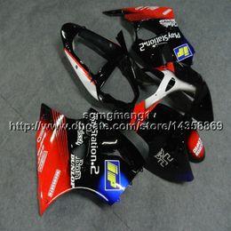 $enCountryForm.capitalKeyWord Australia - Screws+Gifts Injection mold red black blue motorcycle cowl for Kawasaki ZX6R 2000 2001 2002 ZZR600 05 06 07 08 ABSFairings hull