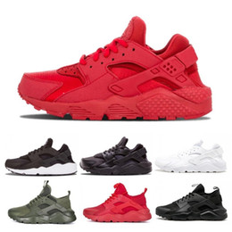 2882e80a02 2019 New Huarache 4 IV Ultra Running Shoes Huraches Trainers For Mens Women  Multicolor Shoes Triple Black White Sports Sneakers Size 36-45