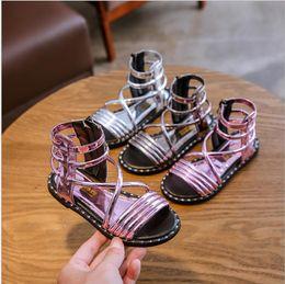 $enCountryForm.capitalKeyWord Australia - 2019 summer new fashion girls sandals Korean version of the big children children female soft bottom little princess Roman shoes children's