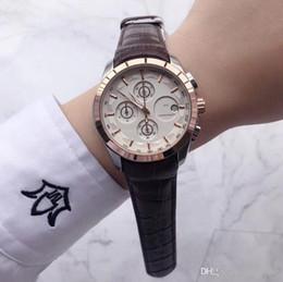 $enCountryForm.capitalKeyWord Australia - Top Brand Mens Watches Stopwatch All Dials Work Genuine Leather 42mm Dial Luxury Designer Watch For Men S Best Gift Wristwatch Dropshipping