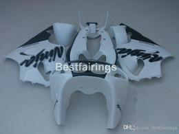 $enCountryForm.capitalKeyWord Australia - New hot body parts fairings for Kawasaki Ninja ZX7R 96 97 98 99 00-03 white black fairing kit ZX7R 1996-2003 TY40