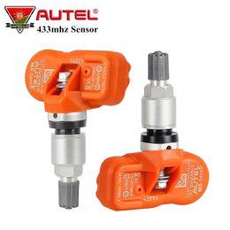 $enCountryForm.capitalKeyWord Australia - 4pcs lot Autel MX-Sensor 433mhz Universal TPMS Sensor MX Sensor 433 Mhz Support Tire Programming Work with Autel TPMS PAD TS401