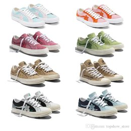 $enCountryForm.capitalKeyWord Australia - 2019 Tyler The Creator x One Star Ox Golf Le Fleur Fashion Designer Sneakers Casual Shoes for Skateboarding Sport Shoes for Men Women