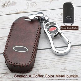 car key skins Australia - Hot sale Car Key Fob Smart Remote Heather Cover Case Skin Car-styling For KIA Sportage 2018 2019 Super Great Cool auto part