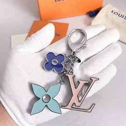 $enCountryForm.capitalKeyWord Australia - M67119 Fashion sky blue 2019 ECLIPSE DRAGONNE & M61950 FACETTES BAG HOLDER TAPAGE CHARM KEY HOLDERS Gift