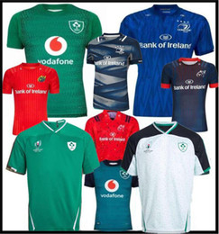 2019 World Cup Ireland rugby Jerseys Irish IRFU NRL Munster city Rugby League Maglia alternativa Leinster 19 20 irster Irishman shirts on Sale
