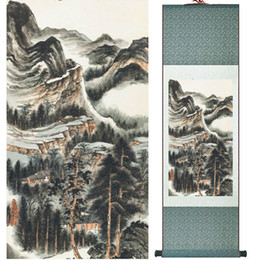 $enCountryForm.capitalKeyWord NZ - Zhangdaqian Mountain And River Painting Chinese Scroll Painting Landscape Art Painting Home Decoration Painting0402014