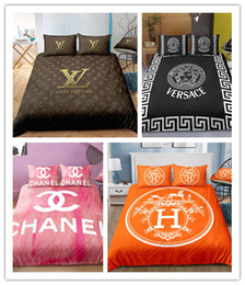 China 3D Hot sale Classic brand Pattern Printing home textile duvet cover set 2 3 pcs Soft For Girls Boys Adults suppliers