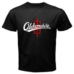 Großhandel Das schwarze T-Shirt der neuen Oldsmobile Logo-klassischen Auto-Emblem-Männer Größe S bis 3XL 2019 Sommer-neues Modemarken-T-Shirt Normallack