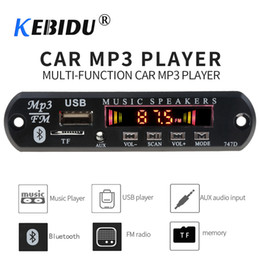 Mm Audio Australia - Kebidu Bluetooth Receiver for Car Kit MP3 Player Decoder Board Color Screen FM Radio TF USB 3.5 Mm AUX Audio For Iphone XS