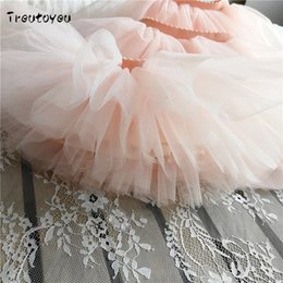 $enCountryForm.capitalKeyWord UK - 2018 Summer Lovely Fluffy Tulle Skirt for mother daughter Baby Girls Tutu Skirts 4 Layer Of Gauze Dance Party