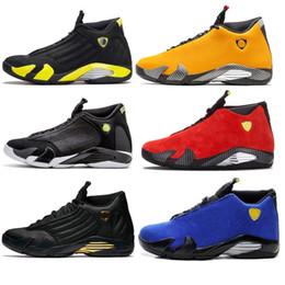 Shot ShoeS online shopping - New Reverse Ferrar Men s Yellow BQ3685 Basketball Shoes Thunder Last Shot Sports S Sneakers Jumpman Rip Hamilton Mens Trainers zapatos