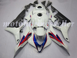hrc fairings Australia - Top (Injection mold) New ABS Motorcycle Full Fairing Kit Fit For Honda CBR600RR 07 08 F5 2007 2008 Fairings Mostly White HRC