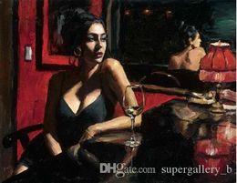 $enCountryForm.capitalKeyWord Australia - Fabian Perez vanessa blanco Handpainted & HD Print Girl Portrait Art oil painting,Home Decor On High Quality Thick Canvas Multi Sizes p112