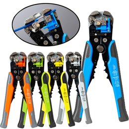 3 In 1 Multi Tool Automatic Adjustable Crimping Tool Cable Wire Stripper Cutter Peeling Pliers D1 Blue Repair Diagnostic-tool Hand Tools