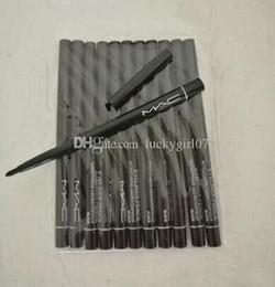 $enCountryForm.capitalKeyWord Australia - New Hot sale 12pcs lot FREE SHIPPING brand Makeup Rotary Retractable Black Eyeliner Pen Pencil Eye Liner New Hottest Eye Liner