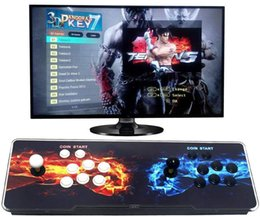 Video games machines online shopping - 2019 D HD Pandora D P GB Arcade Video Game Console Box Arcade Machine Double Arcade Joystick With Speaker yx2323 new
