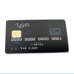 Wholesale Customized ISO 7816 Plastic PVC Contact Cards SLE5528 Chip Smart IC Card