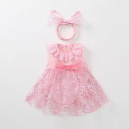 $enCountryForm.capitalKeyWord Australia - 1 Year Birthday Old Outfits Newborn Tutu Tulle Baby Girl Summer Dress Red Pink Infant Princess Dresses Baby Vestido J190528