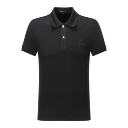 Wholesale pp shirts for sale – custom pp ppp2 New fashion German brand designer men s summer POLO shirt men s boys PP hot drilling hip hop street POLOT cotton POLO shirt