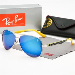 $enCountryForm.capitalKeyWord NZ - Sunglasses Vintage Pilot wayfarer Sun Glasses Bans UV400 Mens Womens Men Women Ben Glass bain Lenses With box