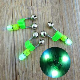 $enCountryForm.capitalKeyWord Australia - 1200PCS LED Fishing Rod Bite Alarm Bells Ring Sea Bell Night Fishing Green Lighted Bell Lures Fish Tool