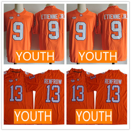 $enCountryForm.capitalKeyWord Australia - Youth 2019 Clemson Tigers Orange Jersey #9 Travis Etienne Jr. 13 Hunter Renfrow Kid Jerseys Cheap Price Lowest 50% Discounts Flash Deals